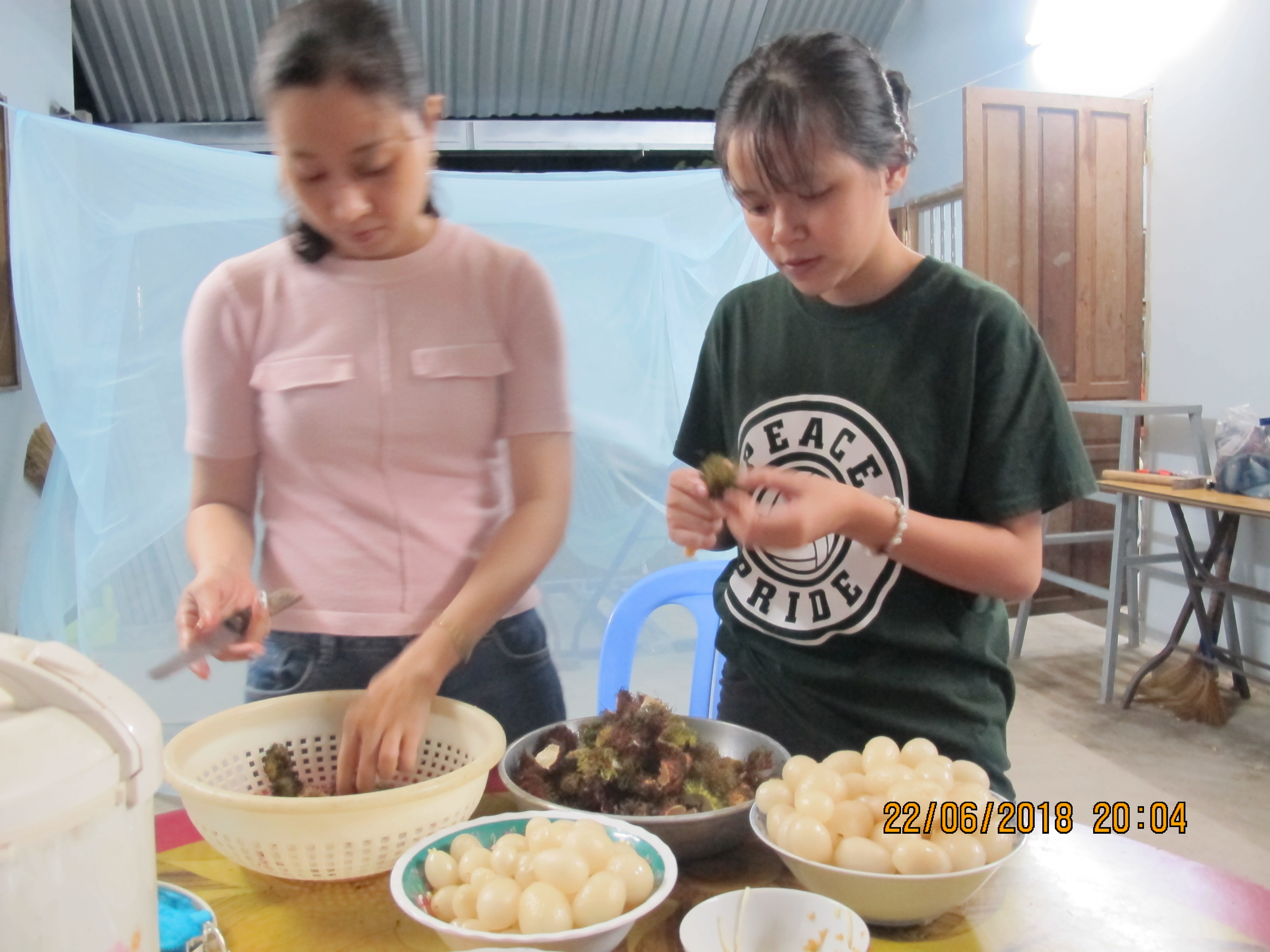 We prepare our own food